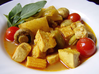 Vegetable tofu: CV1